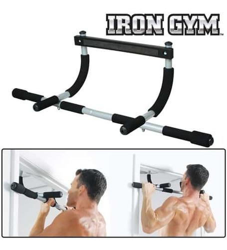 barra de entrenamiento crossfit iron gym  92cm