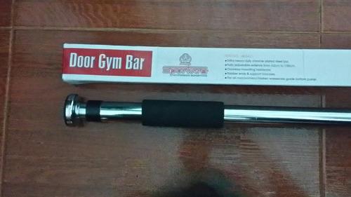 barra de flexiones para puerta ejercicio entrenamiento gym
