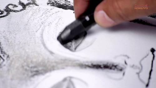 barra de grafito kohinoor jumbo 8971 gb hardtmuth graphite