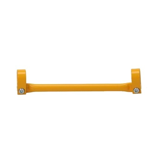barra de guidão (travessa) 19cm amarelo - viper