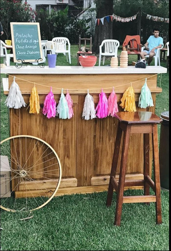 barra de helados para eventos