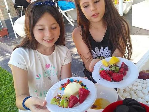 barra de helados y candy bar marcelino catering