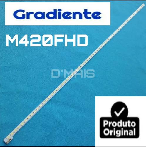 barra de led gradiente m420fhd novinha