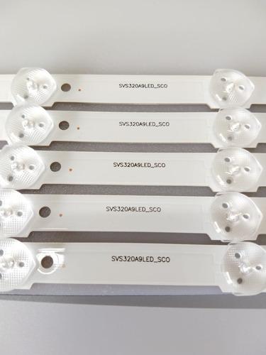 barra de led samsung un32f5500 un32f4300 un32f4200 nova