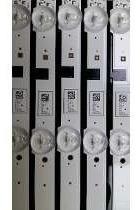 barra de led samsung un32f5500 un32f5200 un32f4300 kit novo