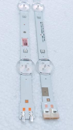 barra de led samsung un49j5200 un49j5200ag - 1 par barras ( linha ) conforme fotos - produto novo original + nota fiscal