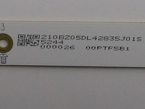 barra de led tv aoc le48d1452 - lado l com 5 leds