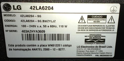barra de led tv lg 42la6200 42la6204 (l1) original