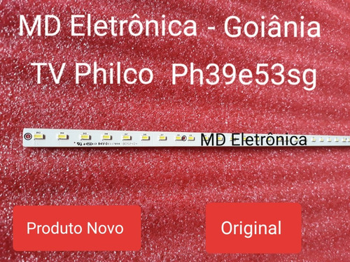 barra de led tv philco ph39e53sg 48 led's v390hk1-ls5-trem4