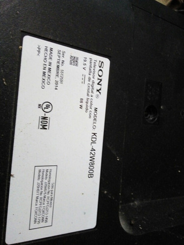 barra de leds sony 74.42t35.001-0-dx1 kdl-42w800b