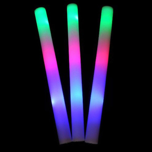 barra de luz led aplaudidor hule espuma aplaudidor fiestas