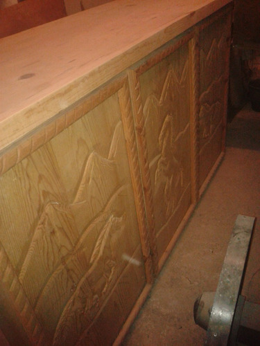 barra de madera
