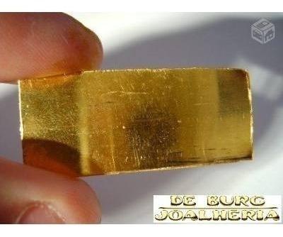 barra de ouro 18k 30g.  100%  confiável 12x sem juros - novo