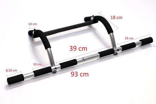 barra de porta multifuncional para diversos exercícios