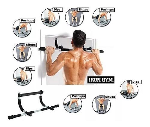 barra de porta multifuncional para diversos exercícios casa
