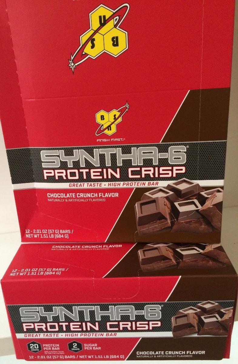 7b600ad96 barra de proteína 12 unidades - syntha 6 bsn promoção. Carregando zoom.