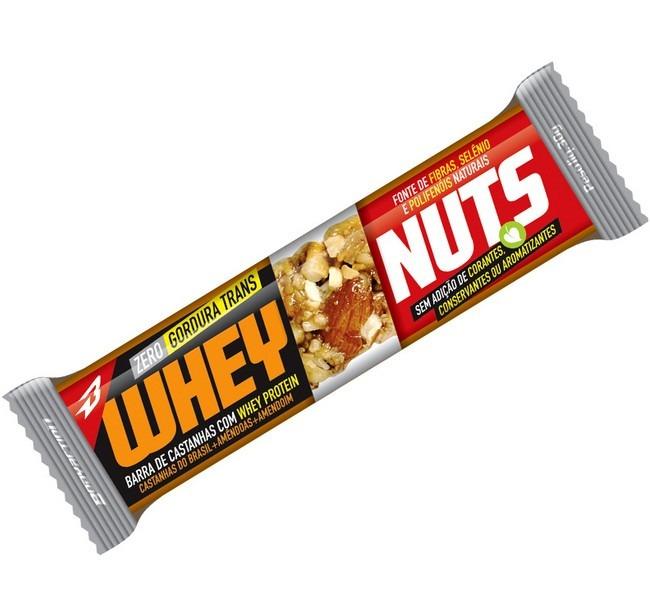 5dd944561 Barra De Proteina Whey Nuts (cx C 12) - Body Action - R  35