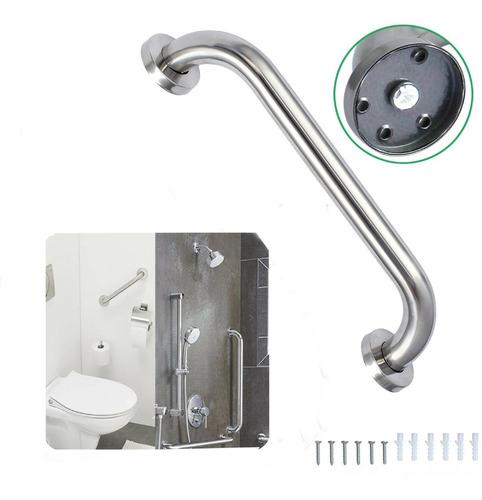 barra de seguridad para baño de 40 cm1 1/4 acero inoxidable