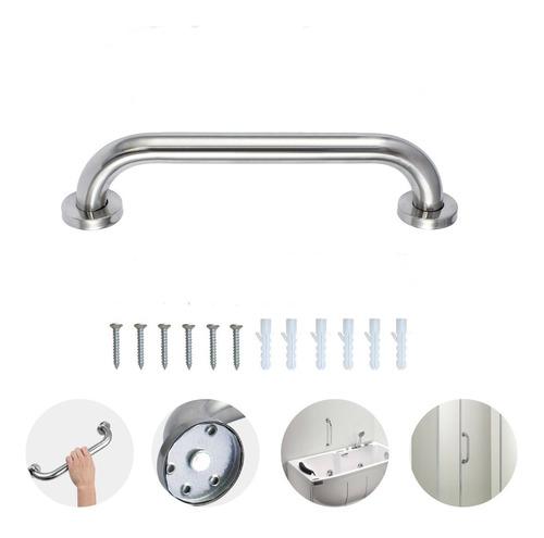 barra de seguridad para baño de 50 cm1 1/4 acero inoxidable