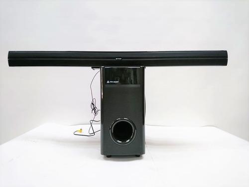 barra de sonido + bajo italy audio usb sd bluetooth