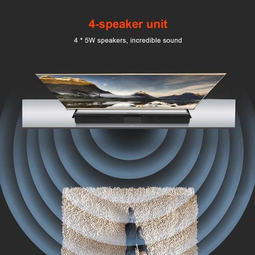 barra de sonido bluetooth 4 * 5w home theater estéreo surrou