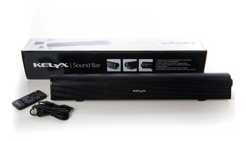 barra de sonido bluetooth kelyx sound bar para pc y tv