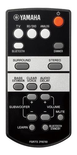 barra de sonido con dual subwoofer bluetooth yamaha yas-105