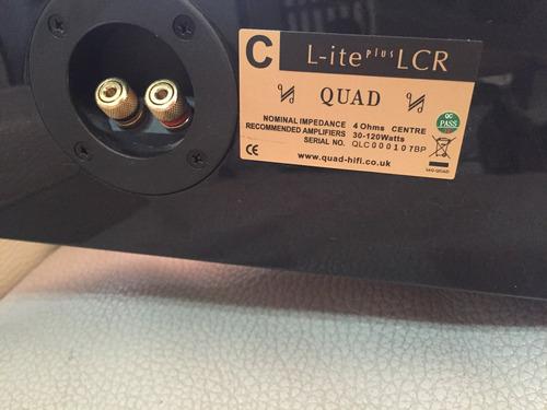 barra de sonido de 3 canales lcr marca quad