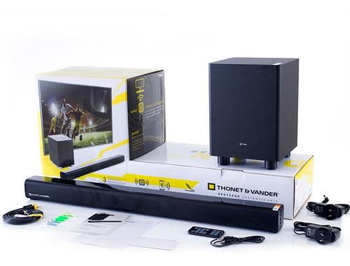barra de sonido home theater dunn con bluetooth y optico