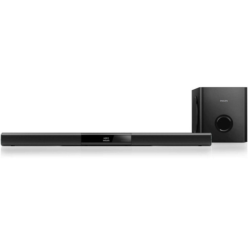 barra de sonido philips 2.1 subwoofer bluetooth nfc hdmi