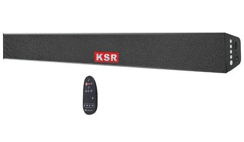 barra de sonido soundbar 2 canales bluetooth ksr 3070 nueva