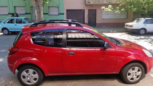 barra de techo / rack negra ford ka 2009-2013