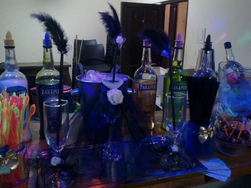 barra de tragos bartender servicio para fiestas y eventos