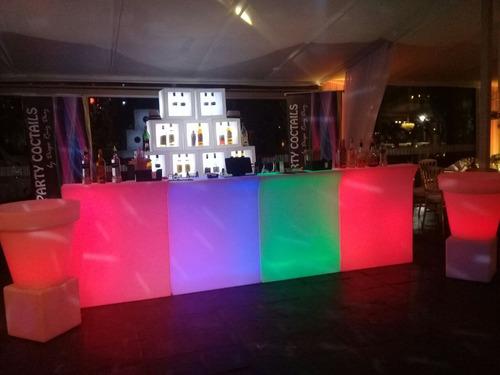 barra de tragos movil fiestas eventos