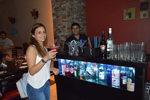 barra de tragos,canilla libre,movil,bartender,barra teen