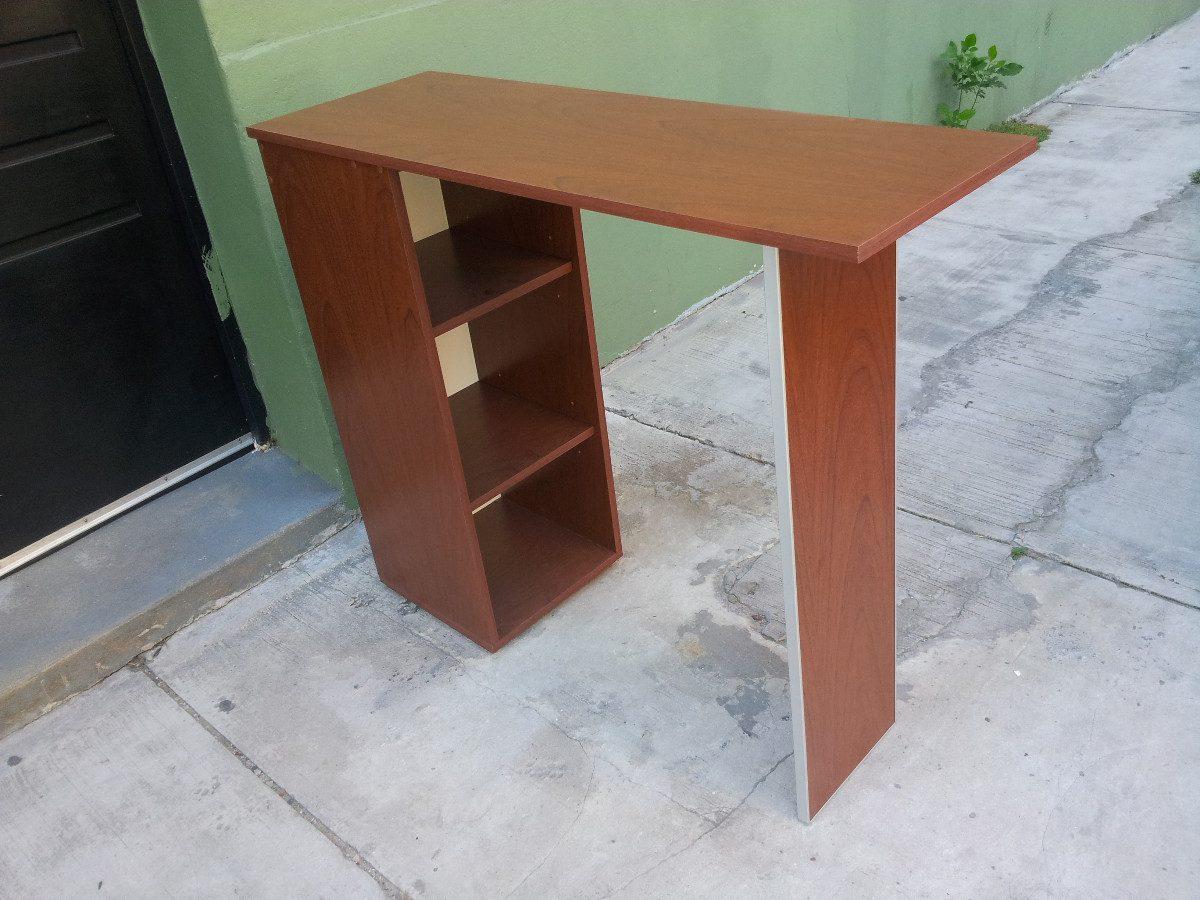 Barra Desayunador, Cantos De Aluminio, Mueble Con Estantes - $ 4.312 ...