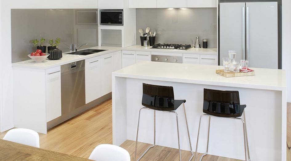 cargando zoom barra desayunador isla mesada mesa cocina minimalista - Cocina Minimalista