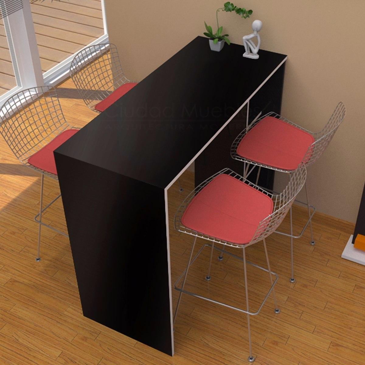Mueble barra cocina tres cocinas blancas un color tres for Muebles cocina 50 cm ancho