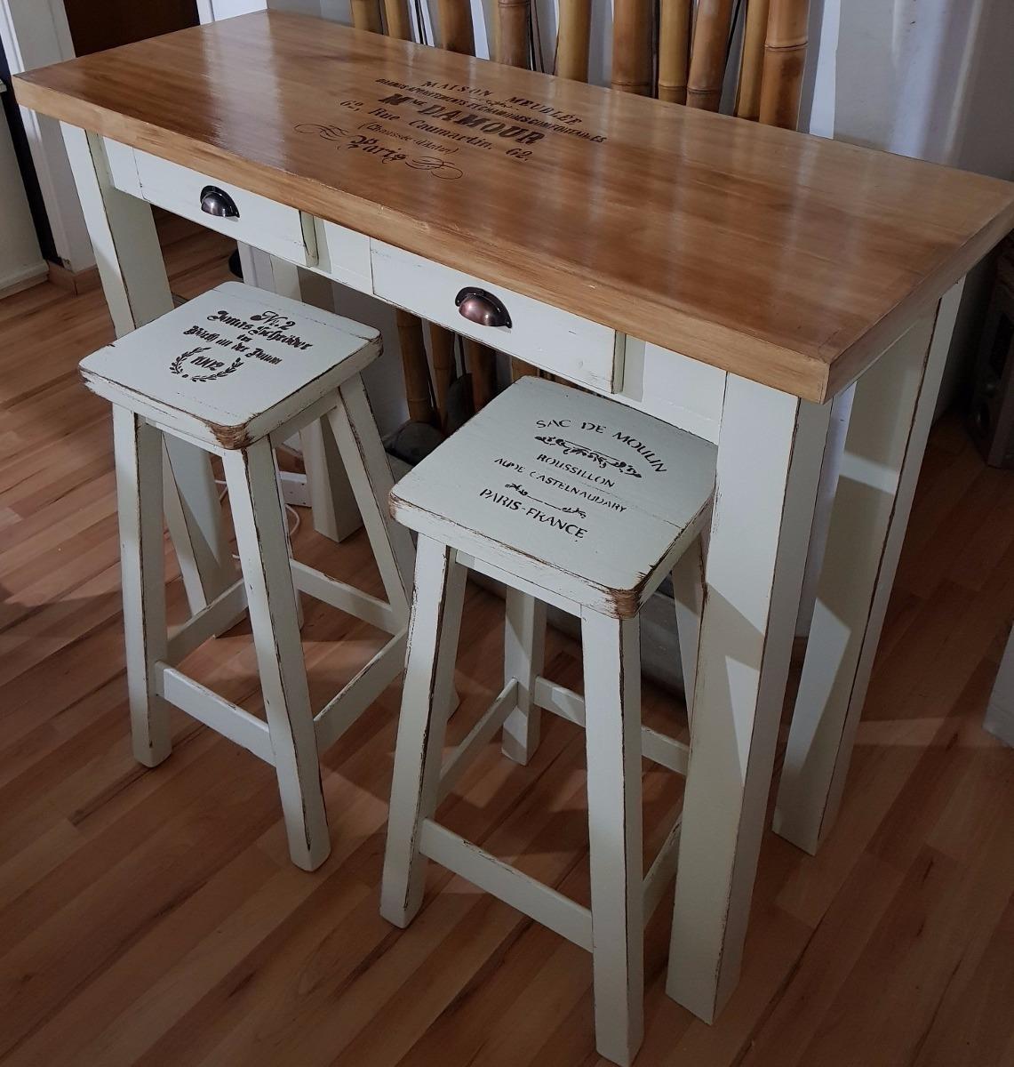 Barras de madera excellent barra de madera with barras de for Muebles de oficina vintage