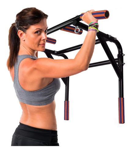 barra dominadas 5 en 1 gym abdominales ejercicio pared