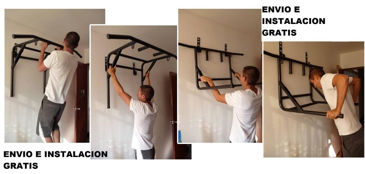 Barra dominadas paralelas 2 en 1 abdominales regalos s 150 00 en mercado libre - Barras de ejercicio para casa ...