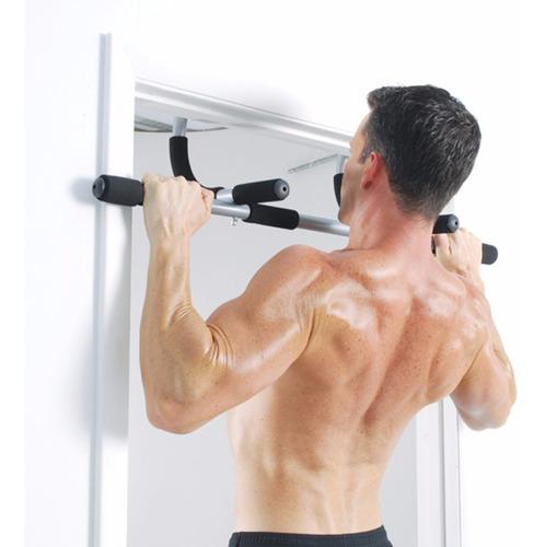 barra ejercicios puerta iron door gym multifuncional flexion