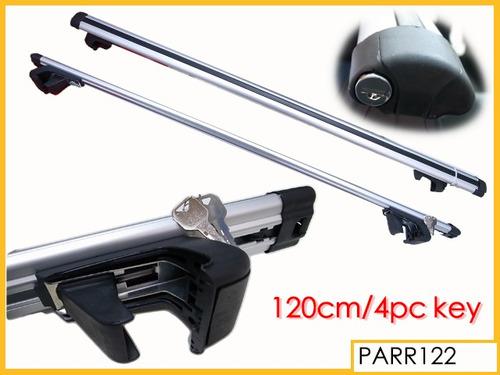 barra equipaje de aluminio con cerradura el juego.. art. 122