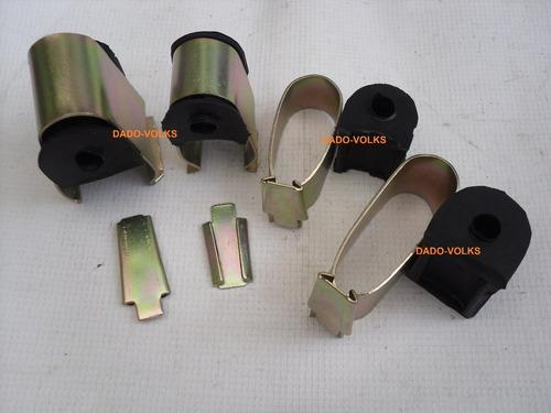 barra estabilizadora + gomas y abrazad vocho brasilia 74-03
