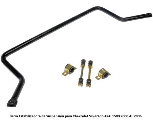 barra estabilizadora silverado cheyenne 4x4 2000/2006 250