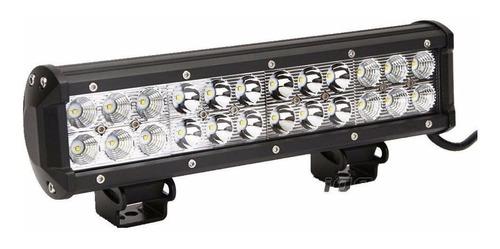 barra faros luces led 12 pulgadas alta potencia 72w recta