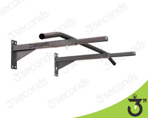barra fixa e paralela (mista) de parede - promoção relampago