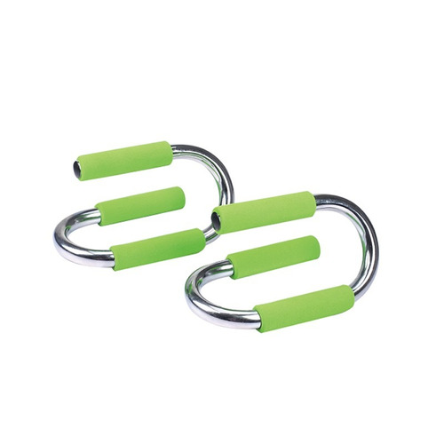 barra flexiones live up mango de acero y goma antideslizante