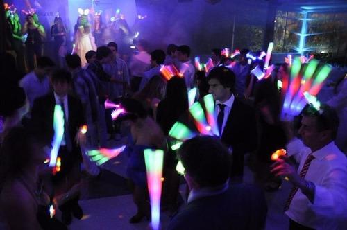barra goma espuma rompecoco luminoso led carnaval carioca