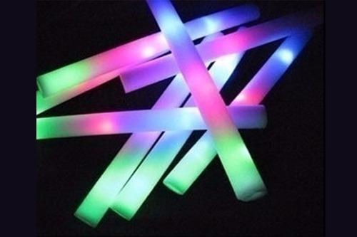 barra goma espuma rompecoco luminoso led multicolor